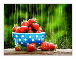 Strawberries by cedrus