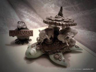 Discworld A'Tuin by thiefoftime