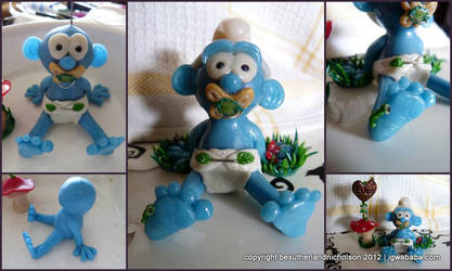 Baby Smurf by thiefoftime