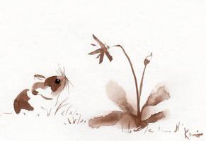 Mouseandflower001 by Jiuhl
