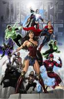 Justice League DCEU by zg01man