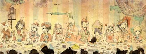 Dream Tea Party by jgvillu