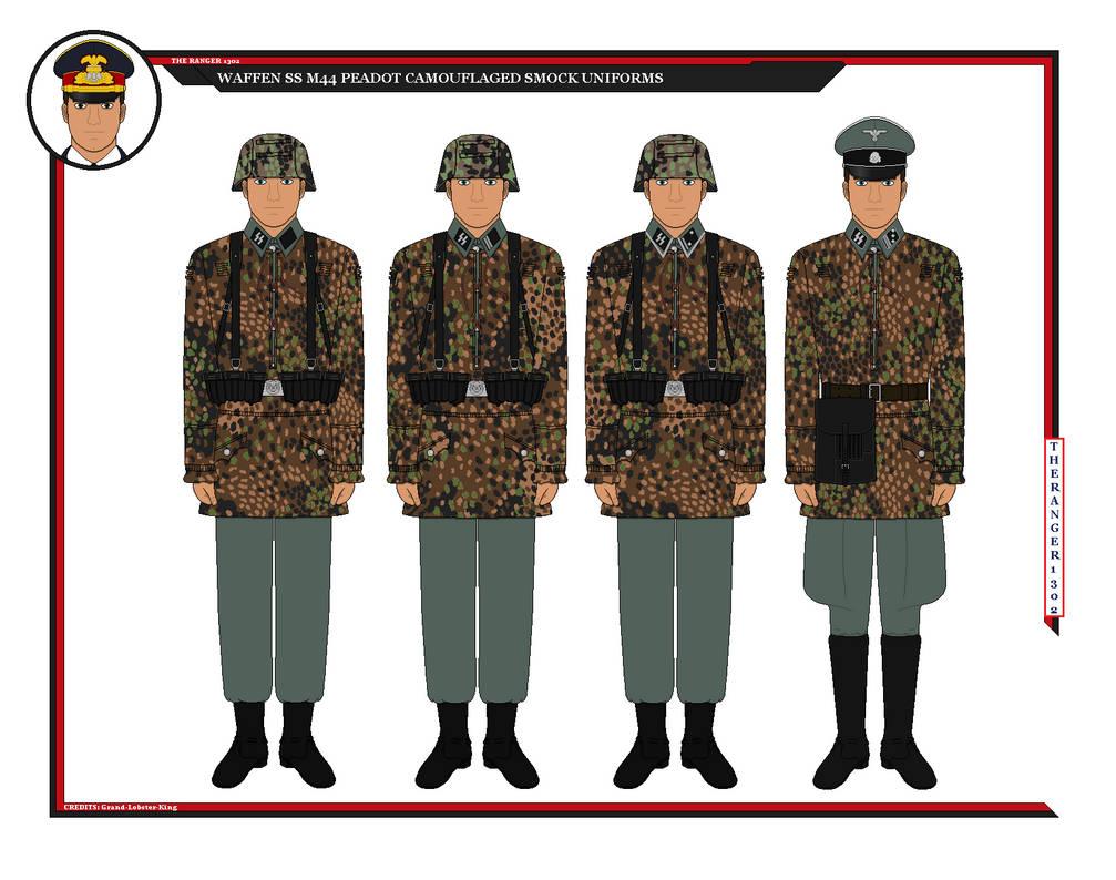 Waffen SS Camo Combat Uniforms By TheRanger1302 On DeviantArt