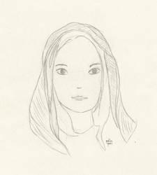 Portrait practice by qalinqori
