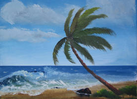Palm Beach Landscape by TylersArtShack