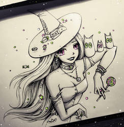 Sweet witch by natalico