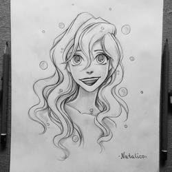 Ariel (traditional) by natalico