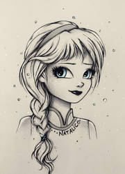 Little Elsa by natalico