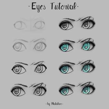 Eyes tutorial by natalico