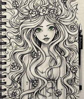 Girl (traditional) by natalico