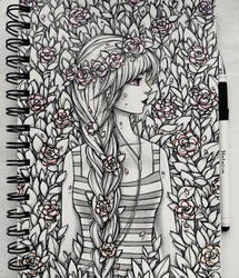 Spring mood (traditional) by natalico