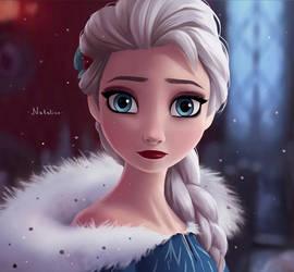 Queen Elsa by natalico