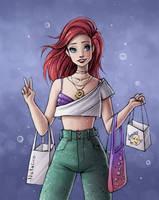 Modern Ariel by natalico