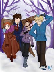 For Sparrow12592: A Little Winter Fun by P4nda-Ch4n
