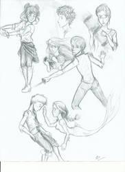 More sketches n' stuff by P4nda-Ch4n