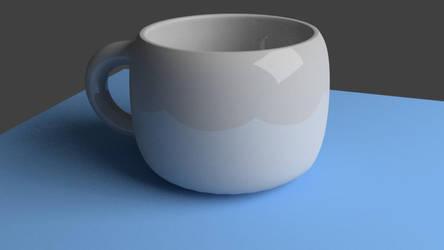 So I modeled a cup.... by P4nda-Ch4n