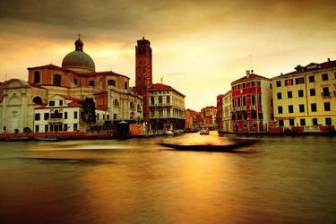 Golden Venice by Ssquared-Photography