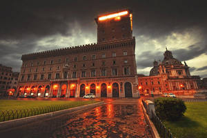 Rome, light flood by Ssquared-Photography