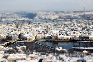 Prague tilt shift 3 by hombre-cz
