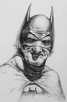 Old Man Batman by ArtOfWei