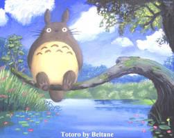 Totoro by Beltanez