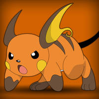 Raichu - Ready for Action by acer-v