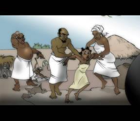 PBJ_Child Slavery In Ghana by Encre8