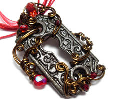 Passage Necklace no. 217 by sojourncuriosities
