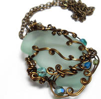Shadowsea Pendant no. 13 by sojourncuriosities