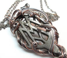 Key to Oz Necklace by sojourncuriosities
