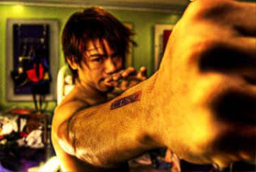 Punch by zeroimage