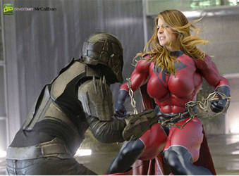 Supergirl Season X (Red Lantern Unleashed) by MRCALIBAN