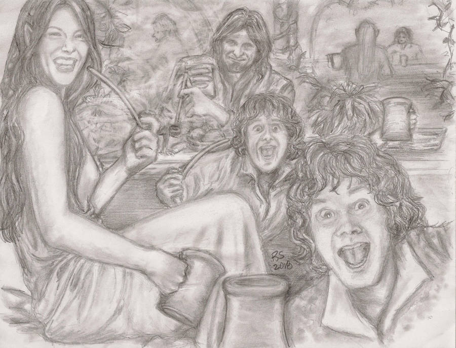 Mischief in Rivendell - Habit Part 2 by rstrider9