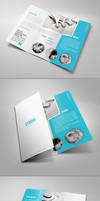 Clean Tri-Fold Brochure by 24beyond