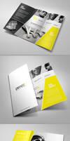 Unique Tri Fold Brochure by 24beyond