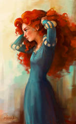 Redhead by Rechka