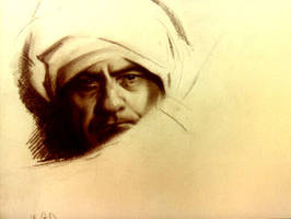 Study of a man's head by InTheNameOfArt
