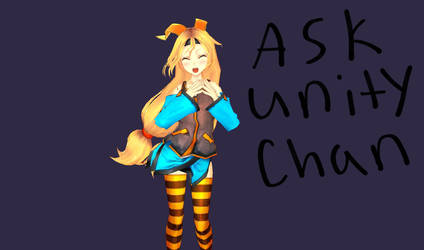 Ask Unity-Chan by BalloonGirl1987