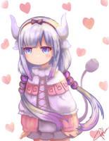 Kanna-chan from Kobayashi san chi no maid dragon by Sinreii
