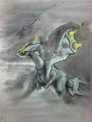 Kyurem - Pokemon Black 2 White 2 by Marto