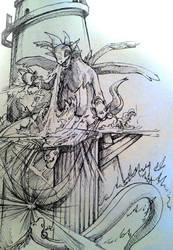 Pkm: Hyedragon vs Dragonair in Dragonspiral Tower by Marto