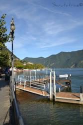 Lugano #1 - Longlake view by Scrutatrice