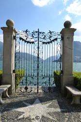Lugano #2 - Gate on the lake by Scrutatrice