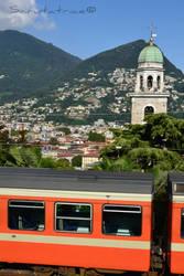 Lugano #3 - Train station by Scrutatrice