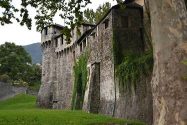 Locarno #2 - Old castle by Scrutatrice