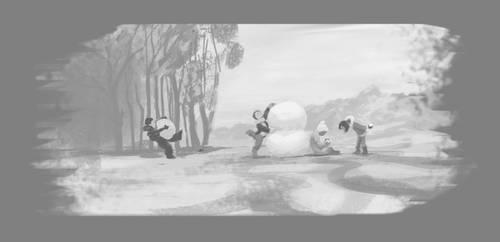 Snow fun by simbalm