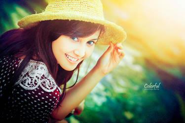her smile by dantoadityo