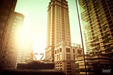 skyscraper by dantoadityo
