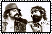 Cheech and Chong Stamp by NinthTaboo