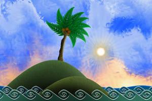 On an Island by NinthTaboo